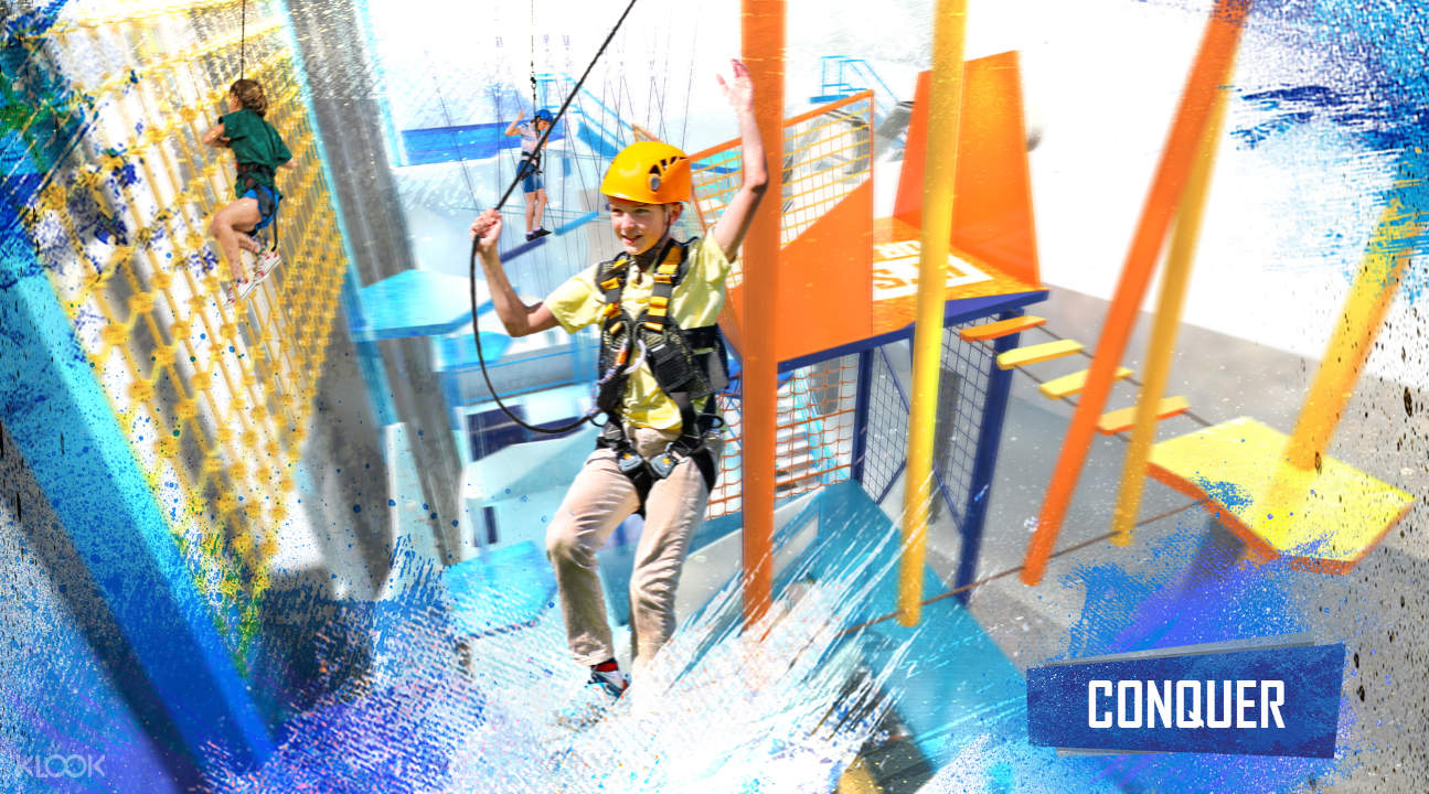 the Conquer Zone in NERF Action Xperience Singapore